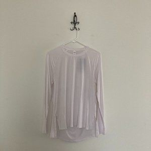 UA Long Sleeve Open Back Modal Top Size Small